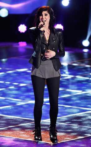 Briana Cuoco, The Voice