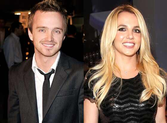 Britney Spears, Aaron Paul