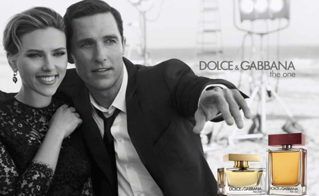 Scarlett Johansson, Matthew McConaughey, Dolce & Gabbana