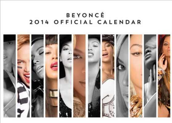 Beyonce, Beyonce calendario
