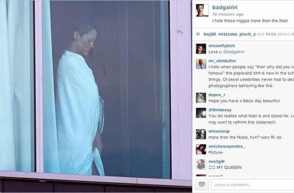 Rihanna, Rihanna Instagram