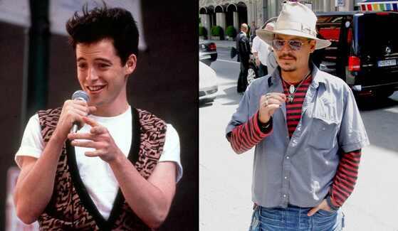 Johnny Depp e Ferris Bueller