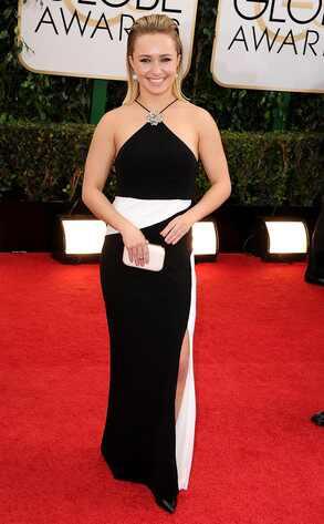 Hayden Panettiere, Golden Globes 2014