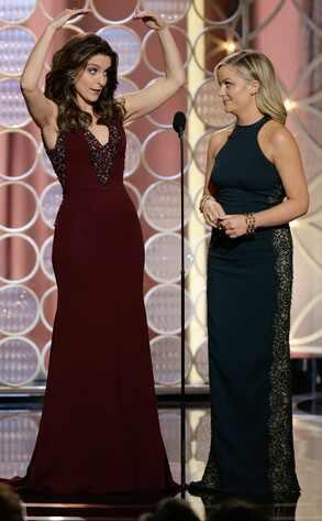 Los chistes más agudos y memorables de Tina Fey y Amy Poehler en los Globos de Oro