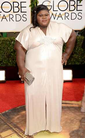 Gabourey Sidibe, Golden Globes
