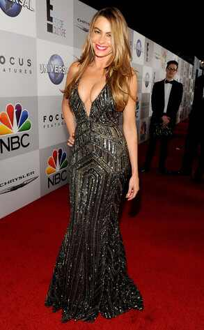 Sophia Vergara, Golden Globes 2014, NBC After Party