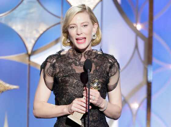 Cate Blanchett, Golden Globes 2014, Winner