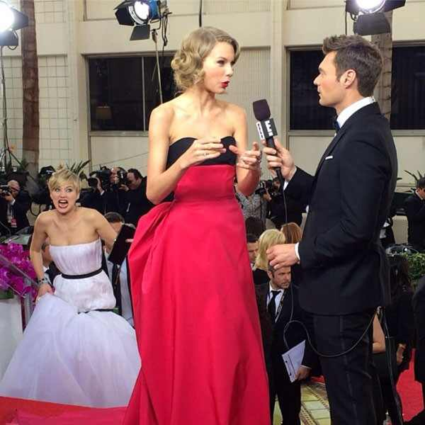 Jennifer Lawrence, Taylor Swift, Instagram