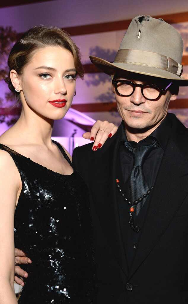 Johnny Depp, Amber Heard. Perrier-Jouët, The Art Of Elysium