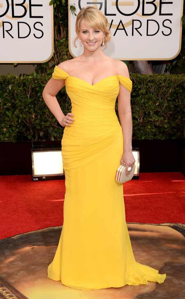 Melissa Rauch, Golden Globes