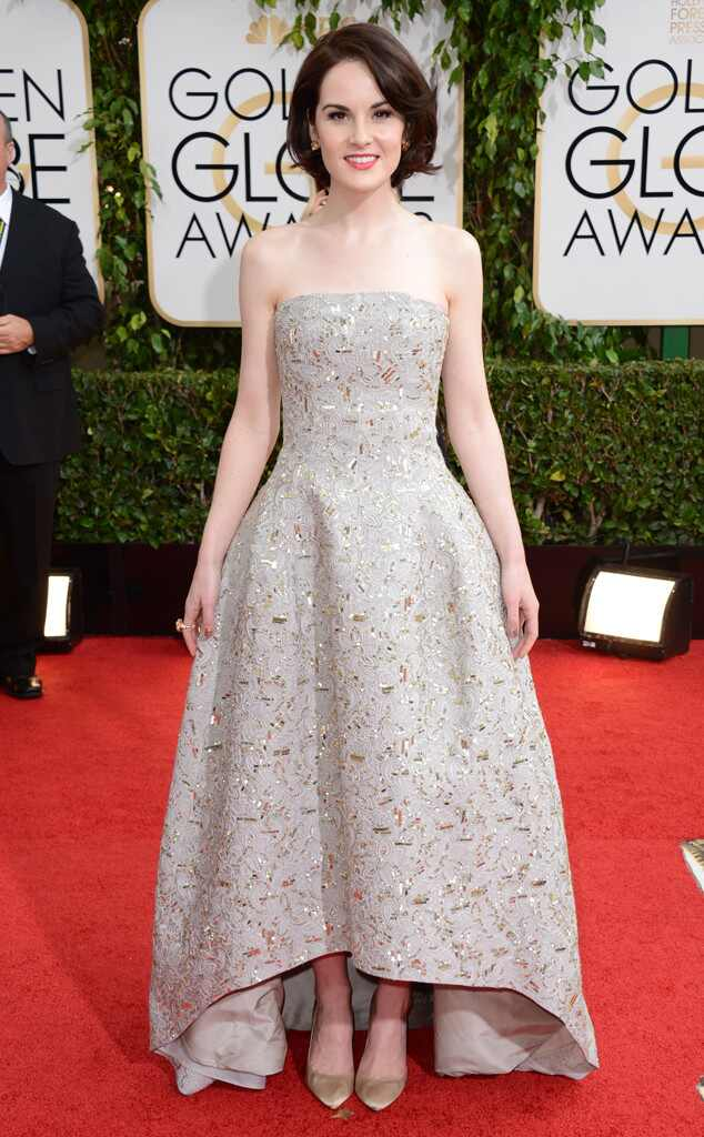 Michelle Dockery, Golden Globes