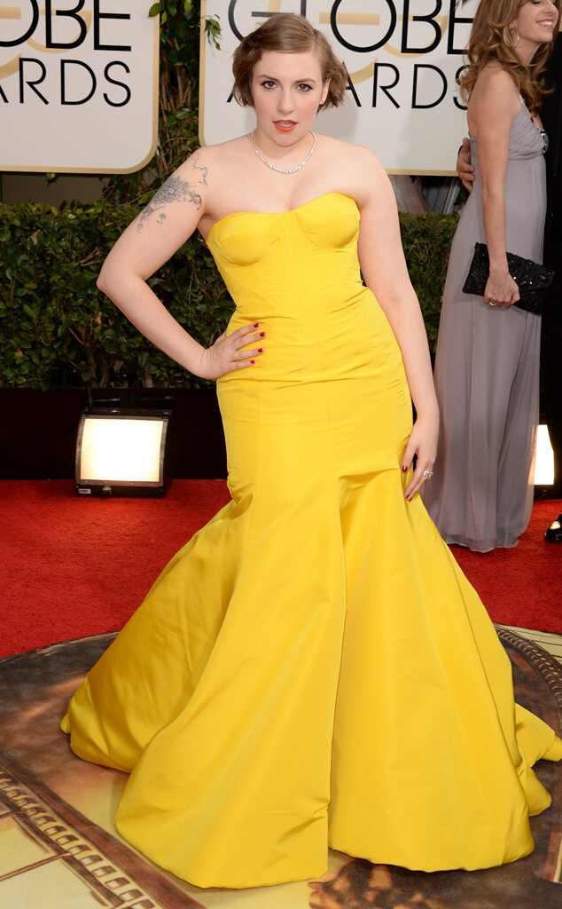 Lena Dunham, Golden Globes