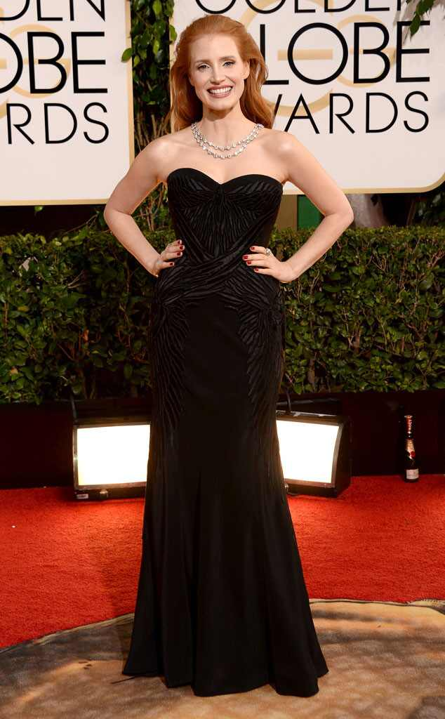 Jessica Chastain, Golden Globes 2014