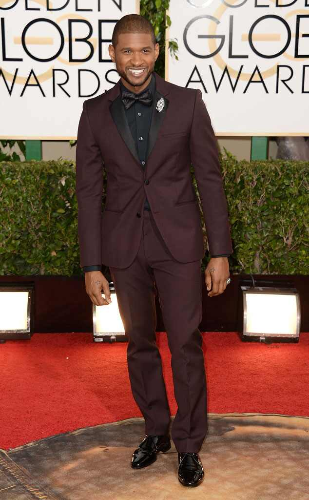Usher, Golden Globes 2014