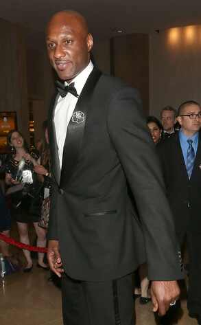Lamar Odom, Golden Globes, Ring