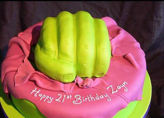 Zayn Malik bolo de aniversario
