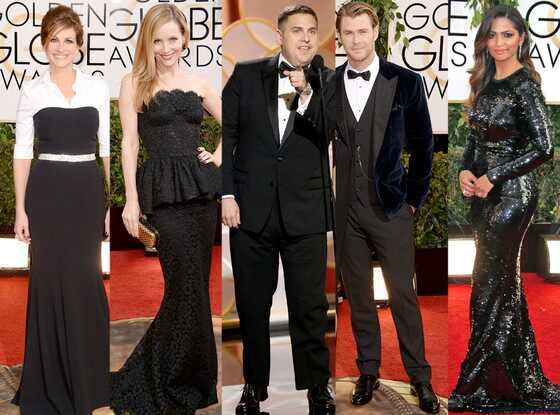 Dolce & Gabbana, Golden Globes 2014
