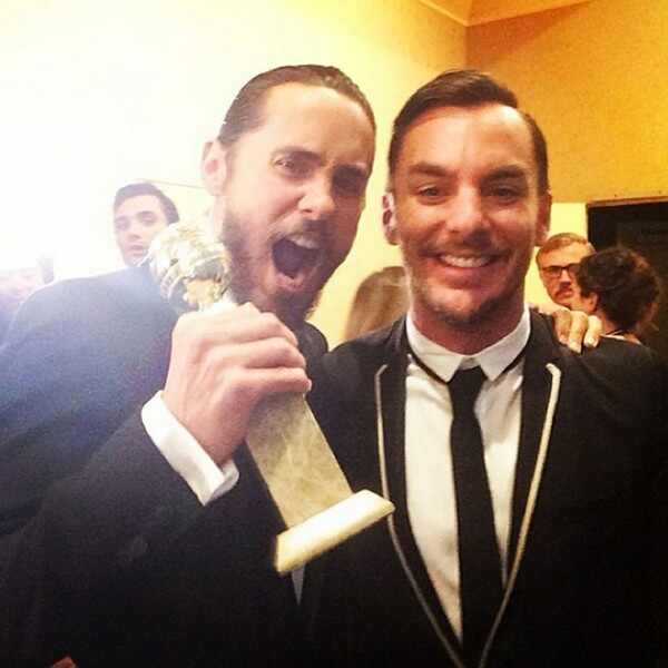 2014 Golden Globes Twitpics Instagrams