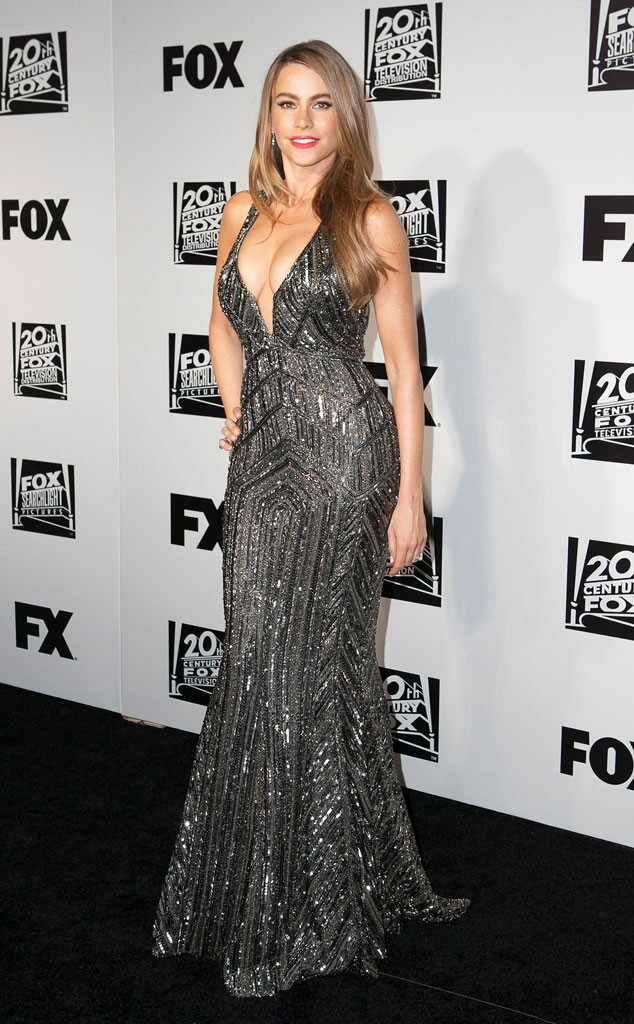 Sofia Vergara, Golden Globes 2014 Fox After Party