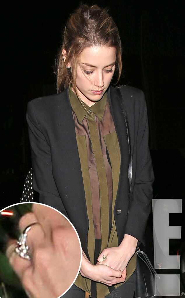 Amber Heard, Engagement Ring, Johnny Depp