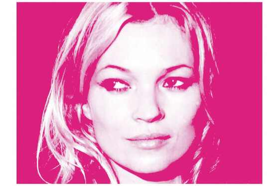 Kate Moss exposicao Russell Marshall