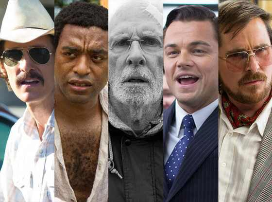 Best Actor, Oscars, Matthew McConnaughey, Chiwetel Ejiofor, Leonardo DiCaprio, Bruce Dern, Christian Bale