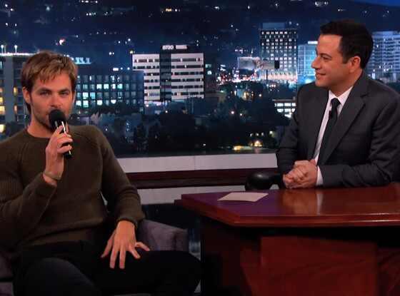 Chris Pine, Jimmy Kimmel Live