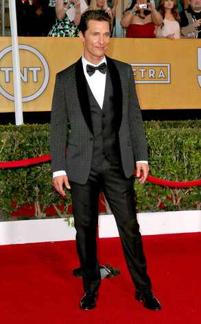 Matthew McConaughey, SAG Awards
