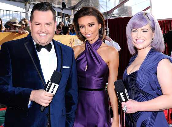 Ross Mathews, Giuliana Rancic and Kelly Osbourne, SAG