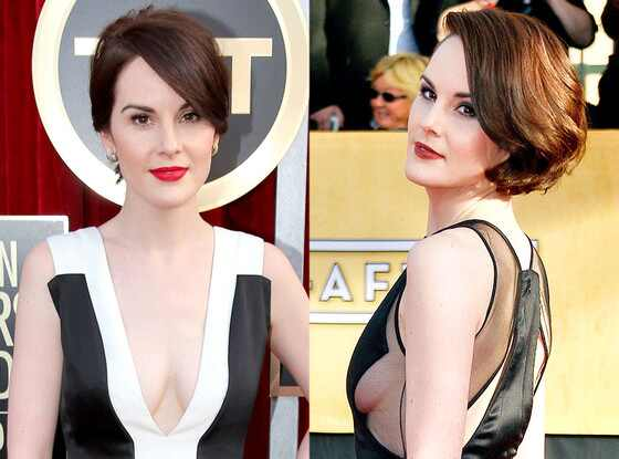 Michelle Dockery, Boobs, SAG Awards