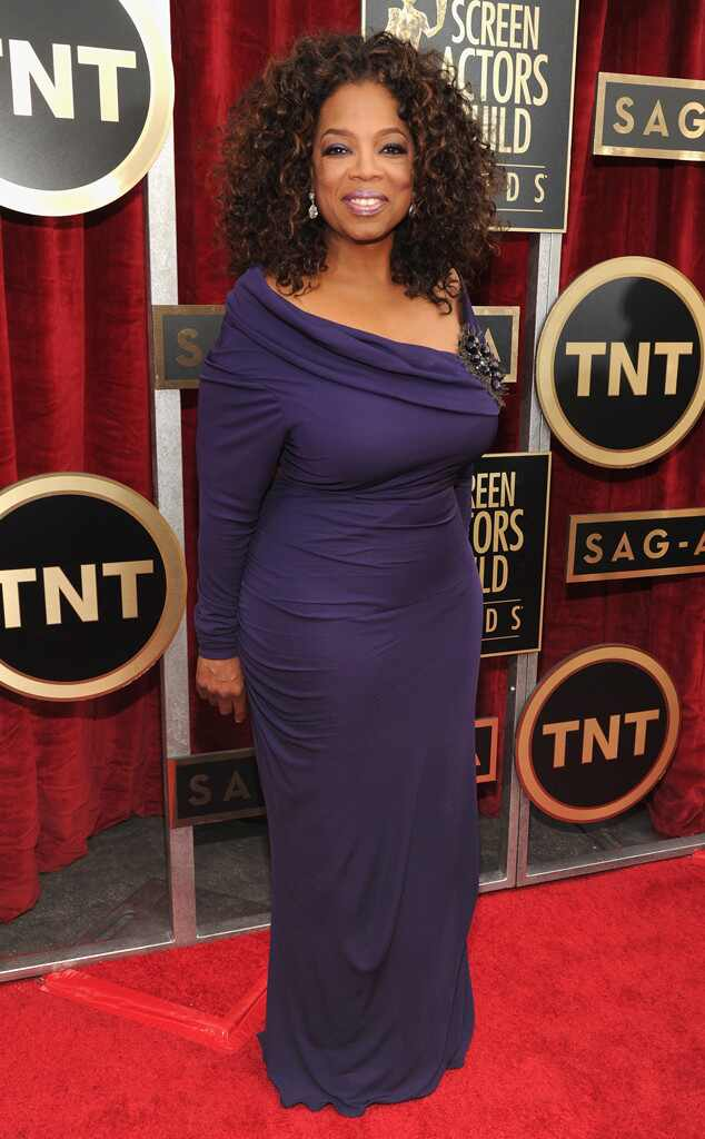 Oprah Winfrey from SAG Awards 2014 : le tapis rouge | E! News
