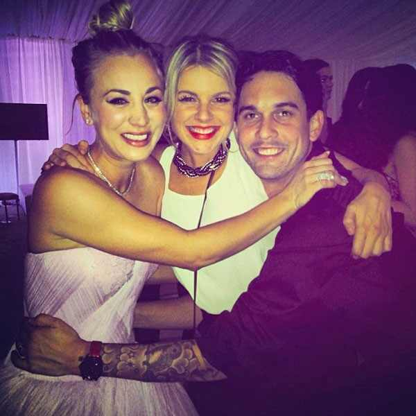 Kaley Cuoco, Ali Fedotowsky, Ryan Sweeting, Instagram