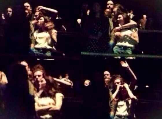 Harry Styles e Kendall Jenner se abraçam