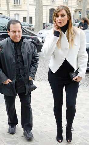 Kim Kardashian, Azzedine Alaia