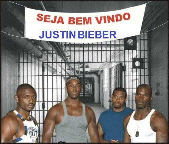 Justin Bieber memes prisão