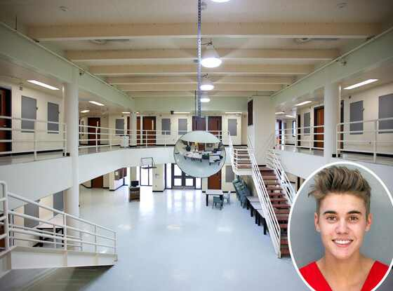 Justin Bieber, Mugshot, Turner Guilford Knight Correctional Center