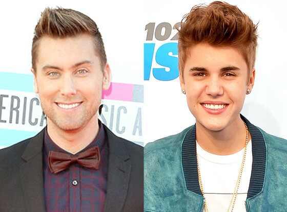 Lance Bass, Justin Bieber
