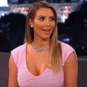 Kim Kardashian, Jimmy Kimmel
