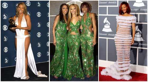 Piores looks Grammy