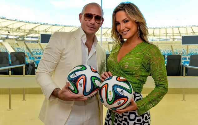 Claudia Leitte Pitbull música Copa do Mundo Brasil