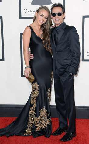Marc Anthony, Chloe Green, Grammys
