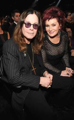 Ozzy Osbourne, Sharon Osbourne, Grammy