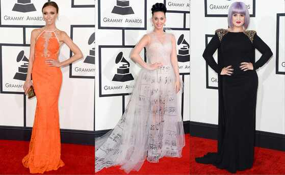 Grammy Awards, Giuliana Rancic, Katy Perry, Kelly Osbourne