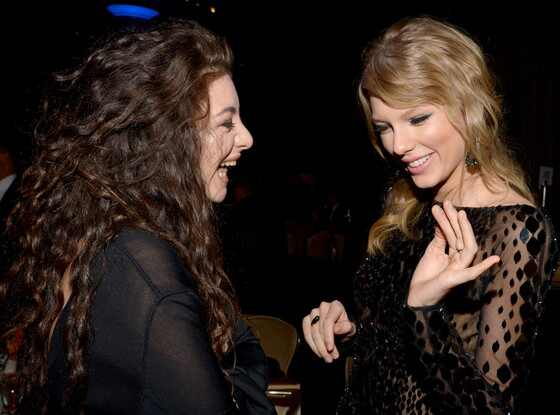 Lorde, Taylor Swift, Pre GRAMMY