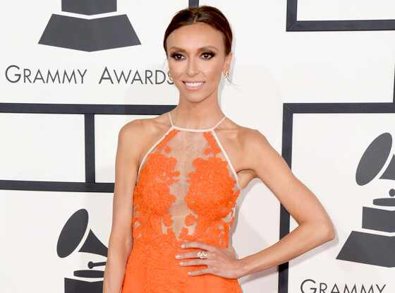 Giuliana Rancic, 56th annual GRAMMY Awards