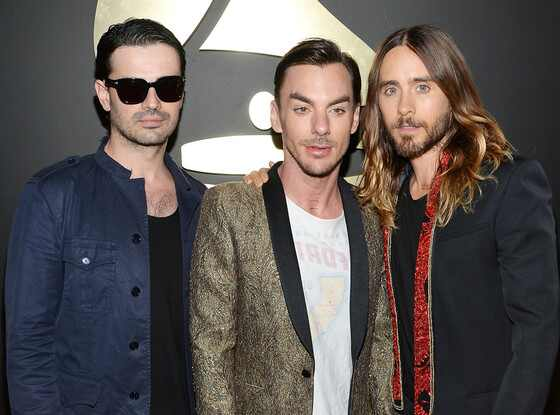 Tomo Milicevic, Shannon Leto, Jared Leto, Grammy Awards