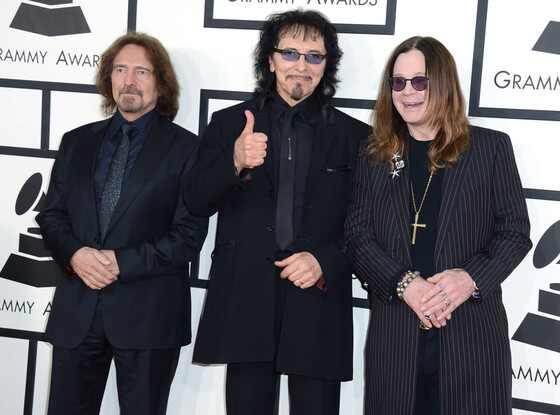 Geezer Butler, Tony Iommi, Ozzy Osbourne, Black Sabbath, Grammys