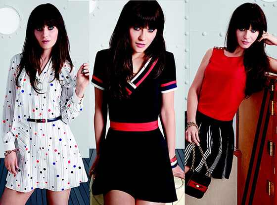 Zooey Deschanel, Tommy Hilfiger