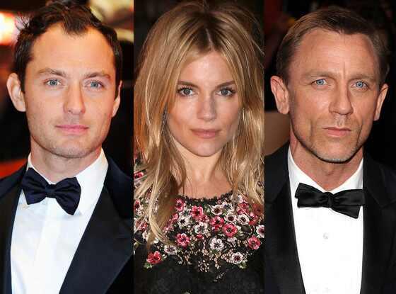 Jude Law, Sienna Miller, Daniel Craig