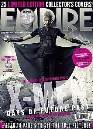 Hugh Jackman Halle Berry X-men revista empire